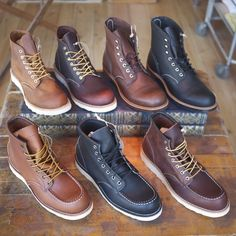 Red Wing boots.