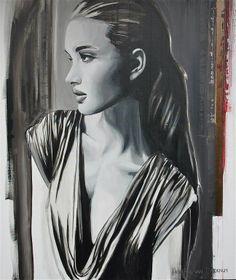 """Saatchi Online Artist: Hesther Van Doornum; Acrylic, 2011, Painting """"In the shade (sold)"""""""