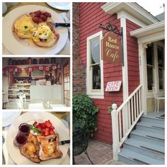 """Simply THE BEST for Breakfast""-That is what a recent diner wrote on Trip Advisor about RED HOUSE CAFE! What sounds good to you for Breakfast this week...Eggs Benedict or French Toast? www.facebook.com/redhousecafepacificgrove#!/redhousecafepacificgrove"