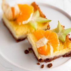 Appelsiinijuustokakku - Orange cheesecake