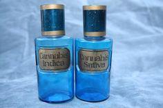 Vintage Pharmaceutical Cannabis Bottles