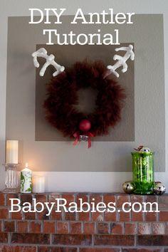Rudolph the Reindeer Tulle Wreath