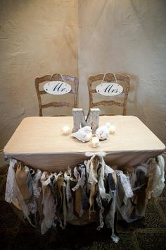 $60 Burlap and Lace Shabby Chic Fabric Banner by MyBlissfulBouquets