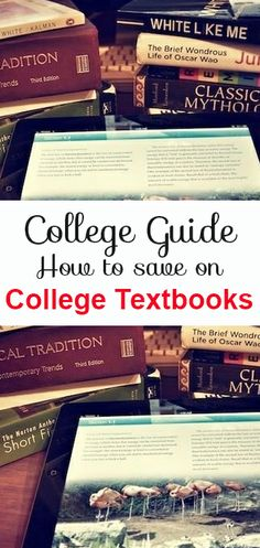 How to save on College Textbooks