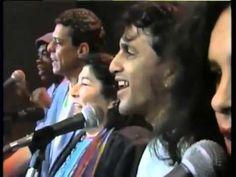 Mercedes Sosa, Chico Buarque, Caetano Veloso, Milton Nascimento e Gal Costa -