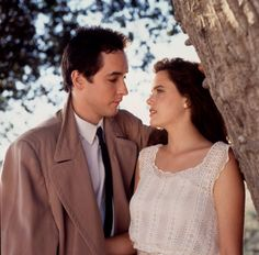 Say Anything...  Declared one of the most quintessential high school movies of all time, Cameron Crowe's 1989 film centered around Lloyd Dobler's (John Cusack) pursuit of Diane Court (Ione Skye).