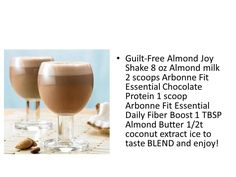 Almond Joy Shake Message me to get your Arbonne protein mix! katrinahummer@yahoo.com
