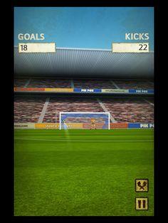 Flick Kick Football Kickoff App by PikPok