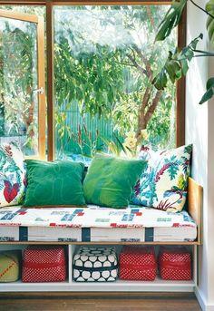 A colorful Sydney home in April 2013 Inside Out Magazine ph: Brigid Arnott Styling by Vanessa Colyer Tay via happymundane.com