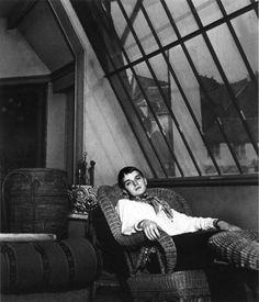Truman Capote, Paris, 1947.