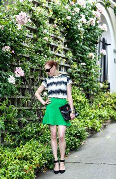 MCLV Style: Skater Skirt Styling | Moi Contre La VieMoi Contre La Vie