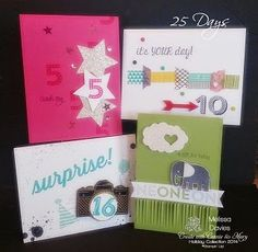 Stampin' Up! 25 Days by Melissa Davies @ rubberfunatics - NOT JUST FOR CHRISTMAS!