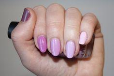 Nail Corner: Lavender ombre manicure