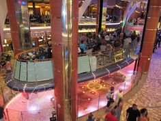 Oasis of the Seas Rising Tide Bar #OasisoftheSeas #RoyalCaribbean