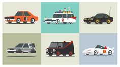 Can you identify these cars from film and TV?
