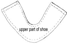 Pattern for American girl shoes