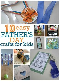 father's day craft ideas for young kids to make for dad!