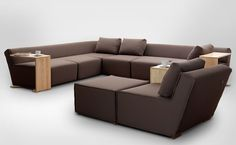 Furniture, Microfiber Wooden Brown Sofa Pillow Hocky Couch Quality Furniture Living Room Decorating Ideas Big Direct Comfy Sets Sectional Couches Lane Affordable Home Decor Beds Modern Sale: Inspiring, Functional also Innovative Sofa by Marcin Wielgosz