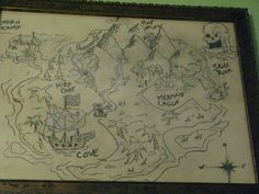 Neverland map! Love it!