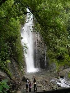 Cascada Velo de La Novia,Parque Henry Pittier, Aragua, Venezuela.