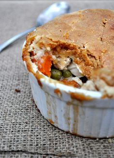 A paleo chicken pot pie recipe to keep you fed and satisfied tonight. Seriously, these are SO filling and SO delectable.