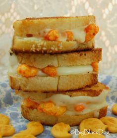 Grilled Cheetos Sandwich