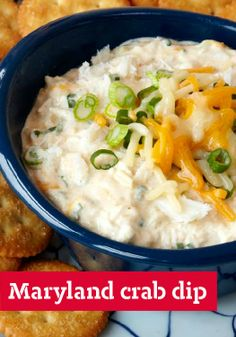 Maryland Crab Dip — This dip's smooth cream cheese base, flaky crabmeat and dashes of Worcestershire and hot pepper sauces will put you firmly on the shores of Chesapeake Bay.