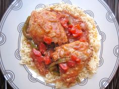 Chicken Cacciatore / Rich & Rustic