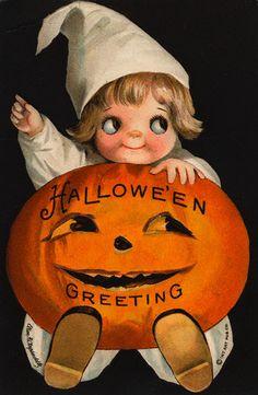 Googlie and Jack-o-Lantern    1910