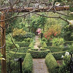 Wing Haven garden, B