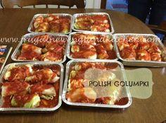 Polish Golumpki Stuffed Cabbage Rolls Recipe #Polish #casserole - use turkey ground meat