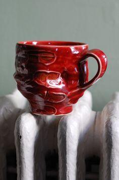 ralph nuara - blood red mug
