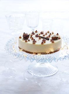 cheesecake vanille marron glace