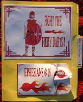 File Folder Game The Whole Armor of God (Christian Soldier) Bible Fun For Kids: