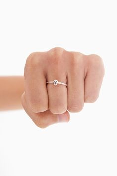 Tiny Skull Ring
