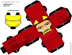 IRONMAN cubeecraft XL_pg-2 by randyfivesix.deviantart.com on @deviantART papercraft, iron man, ironman