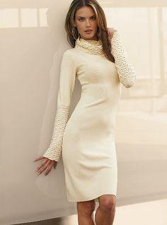 I love sweater dresses