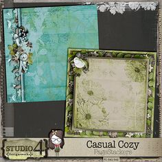 Casual Cozy PageStackers created from CASUAL COZY - the kit.