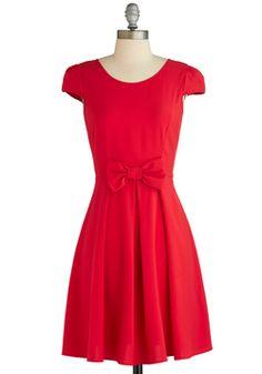 Candy Apple Cute Dress, #ModCloth
