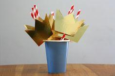 Crown straws