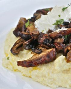 Creamy Polenta with Wild Mushrooms and Mascarpone | The Hopeless ...