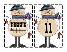 Subitizing numbers 11-20