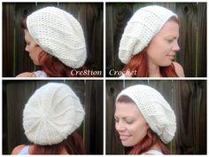 free crochet pattern super soft slouch