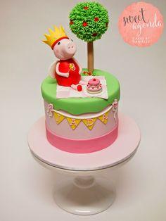 Sweet Peppa Pig Cake