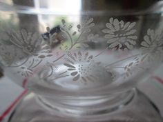 Colonial Mist Pyrex clear