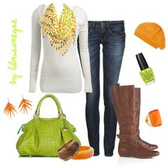 Stylish Fall Day, created by lilmissmegan on Polyvore