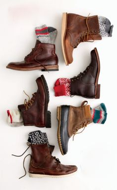 walking shoes & hiking boots