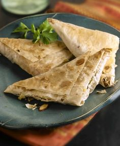 Chicken and Egg Phyllo Triangles