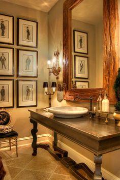 Traditional Powder Room - traditional - Powder Room - Boise