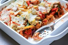 Roasted Vegetable Enchiladas